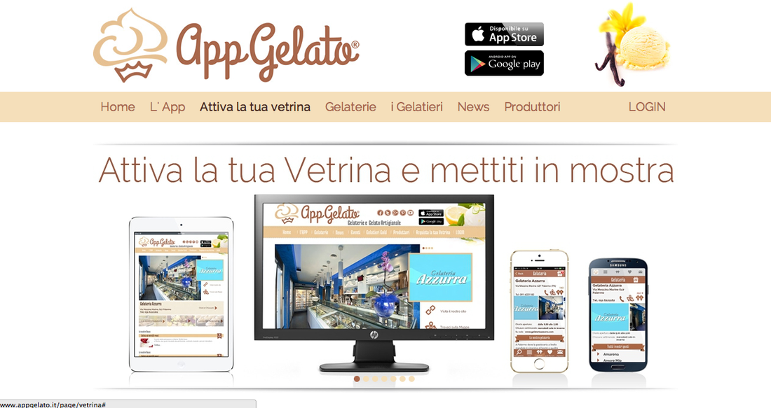 gelaterie artigianali, marketing gelato